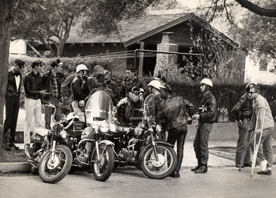 The Satyrs, founded in Los Angeles in 1954, is considered the first gay motorcycle club.