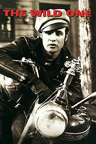 Wild One starring Brtando, Clumbia Pictures, 1953
