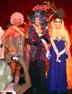 Miss CMEN Queen 2018 Dave as Blossom with runners up