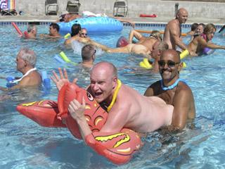 Fun in the pool 2005