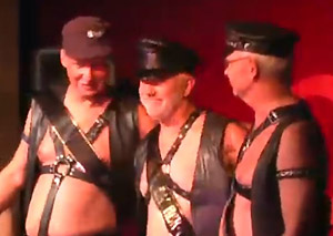 Mr. CMEN Leather 2014 Dennis with runners up