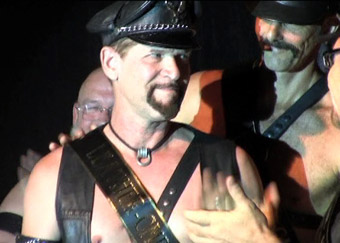 Danny named Mr. Leather CMEN 2009